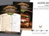 ulotki A5 z menu