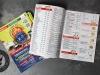ulotki składane z menu