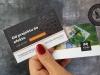 wizytówki z lakierem 3D