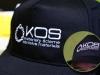 czapeczki z haftem logo