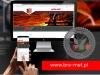projekt i wykonanie strony www.bra-met.pl + responsywność na urządzenia mobilne