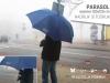 parasol z nadrukiem logotypu