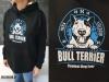 bluza z nadrukiem Bull Terrier