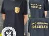 koszulki z nadrukiem herbu w kolorze złotym
