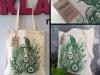 torba bawełniana z lwem
