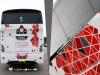 wyklejenie grafiki na autobusie