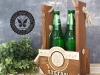 nosidełko na 2 piwa z imiieniem
